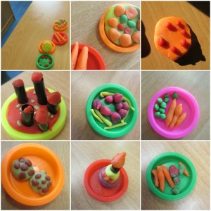 BeFunky Collage - Playdoh Food